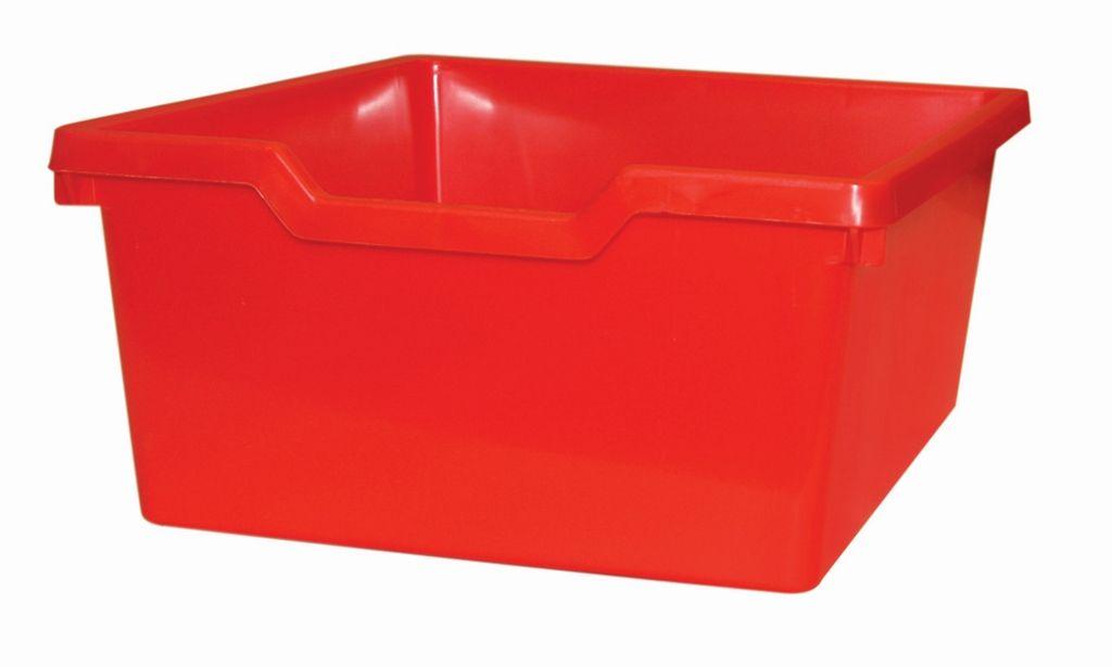 Plastik-box N2 DOUBLE - rot Gratnells