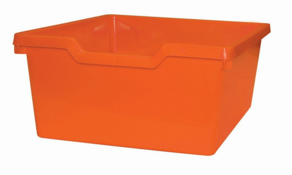 Plastik-box N2 DOUBLE - orange Gratnells