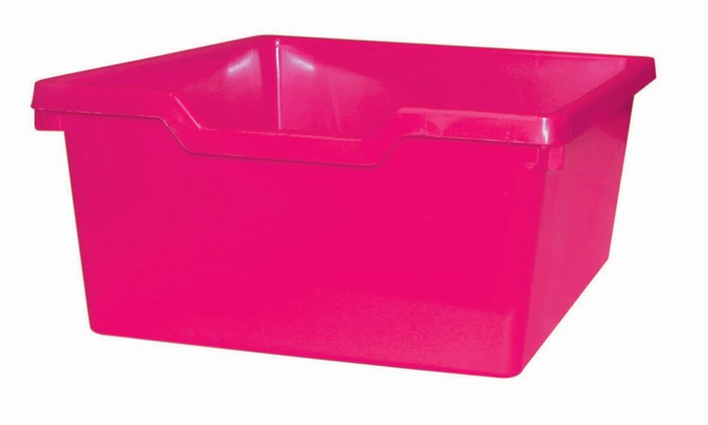 Plastik-box N2 DOUBLE - rosa Gratnells