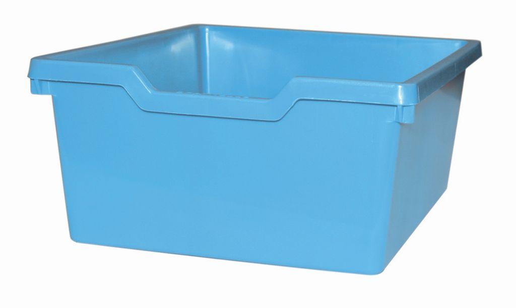 Plastik-boxe N2 DOUBLE - hellblau Gratnells