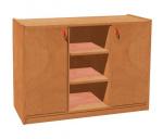 Korpusschrank mit 2 Türen und 6 Einlegeböden