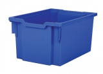 Plastik-box F25 EXTRA DEEP - blau