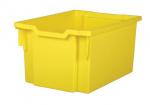 Plastik-box EXTRA DEEP - gelb